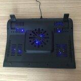 ซื้อ Marvo Fn33 พัดลมระบายความร้อนโน๊ตบุ๊ค 5ใบพัด Laptop Cooling Stand 5Fans สีดำ Marvo ถูก