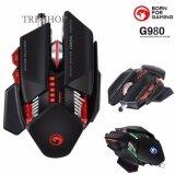 โปรโมชั่น Marvo เมาส์ เกมมิ่ง มาโคร์ Full Rgb Macro Usb Mouse Galaxy Scorpion 7D รุ่น G980 Black สีดำ Marvo
