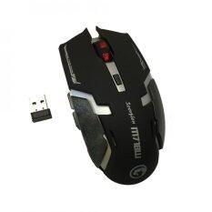 ขาย Marvo Mouse Wireless เมาส์ไร้สาย รุ่น M718W Black Marvo