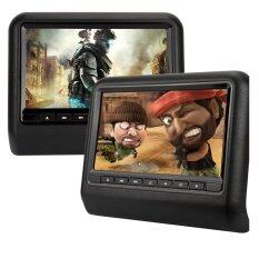 Mastersat จอ Lcd 9 ทีวีติดพนักพิงหลัง ดูหนัง เล่นเกมส์ Headrest Lcd Monitor ( 2 ชุดสำหรับเบาะซ้ายและขวา ) By Mastersat.