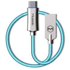 ขาย ซื้อ Mcdodo Knight Series Auto Disconnect Quick Charge 3 Type C Usb Data Cable 1M Blue Intl จีน