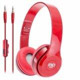 ราคา Md Tech Hs6 หูฟัง Headset Bass Boost Stereo Android Iphone N B Pc Tv Red Thailand