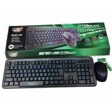 ราคา Md Tech Keyboard Mouse Wireless Combo รุ่น Rf15 35 คีย์สีฟ้า Md Tech ออนไลน์