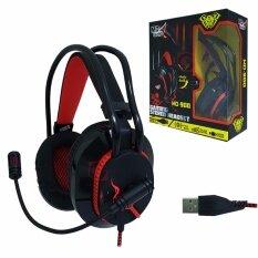 ขาย หูฟังเกมมิ่ง มีไฟ Md Tech Md 900 สีดำ รับประกัน 1 ปี ออนไลน์
