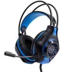 ราคา Md Tech Mortal Gaming Stereo Headset Hs103L สีน้ำเงิน Md Tech Thailand