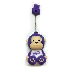 Meedy USB 2.0 Flash Drive 8 GB Memory Stick Cartoon Monkey (Violet)