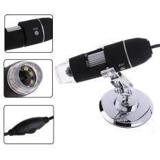 ทบทวน Mega Pixels 800X 8 Led Usb Digital Microscope Endoscope Camera Magnifier