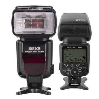 Meike MK910 i-TTL Master/Slave Flash for Nikon (Black)-