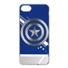 ส่วนลด Meki Marvel Avengers เคส แท้ Apple Iphone 7 Electroplating 3D Color Carving Hard Pc Captain America Blue ไทย