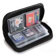 ขาย ที่เก็บการ์ดหน่วยความจำกระเป๋าใส่กระเป๋าถือกล้อง Sd Micro 22 Slots Sportkinger เป็นต้นฉบับ