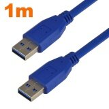 ราคา Mengs® 1 Metre Usb 3 Male To Male Extension Data Cable Cord Compatible With Hard Disk ใหม่ล่าสุด