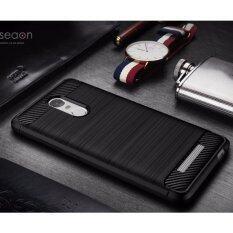 ซื้อ Mercu เคส Xiaomi Redmi Note 3 Soft Tpu Case ฺblack