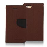 โปรโมชั่น Mercury Fancy Diary Case สำหรับ Iphone 6 6S Brown ใน ปทุมธานี