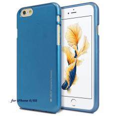 ทบทวน Mercury I Jelly Premium Tpu ของแท้ สำหรับ Iphone 6 6S สีน้ำเงิน Blue Blue