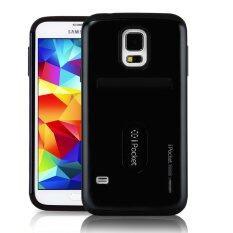 ซื้อ Mercury Ipocket Premium Case สำหรับ Samsung Galaxy S5 Black ถูก ปทุมธานี