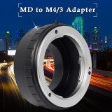 ราคา Metal Adapter For Minolta Md Mc Lens To Micro M4 3 Gf1 Gf2 Gh2 Gf2 Gh3 G3 ที่สุด