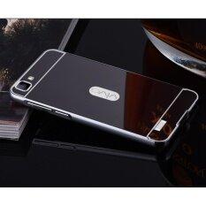 ซื้อ Metal Bumper And Mirror Pc Back Cover Case For Vivo Y35 Intl Unbranded Generic ออนไลน์
