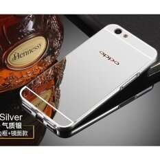 ... Aluminium Bumper With Mirror Backdoor Slide - Gold. Source · Metal Frame Mirror Back Cover Case For OPPO A59s / OPPO F1s / OPPO A59 (