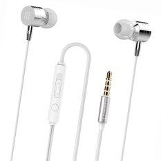 ราคา Metal Stereo In Ear For Smart Phone White ใน จีน