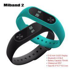 Miband 2 MiBand2 พร้อมส่ง mi band2 แท้ MI Band 2(BLACK)