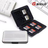 ขาย การ์ด Micro Sd Cards Holder เมมโมรี่การ์ด Memory Card Case Protector Aluminum Case 16 Solts For Sd Sdhc Sdxc Micro Sd Carrying Case