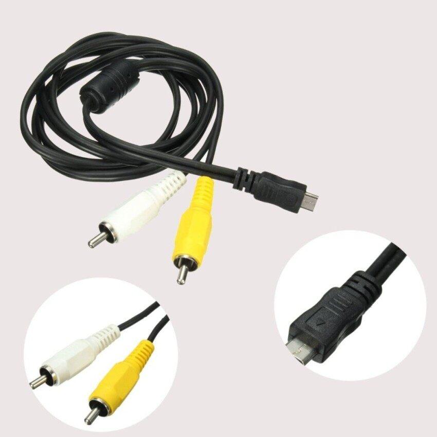 ไมโคร USB ตัวผู้ 2 RCA AV อะแดปเตอร์เสียงวิดีโอสายสำหรับซัมซุงโทรศัพท์มือถือ US - INTL