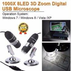 โปรโมชั่น Microscope Usb Endoscope กล้องไมโครสโคป Usb กล้องจุลทรรศน์ดิจิตอล Usb 1000X สำหรับ Winxp Vista 7 8 ใน กรุงเทพมหานคร