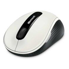 Microsoft Wireless Mobile Mouse 4000 USB BlueTrack - White
