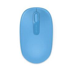ส่วนลด Microsoft เมาส์ไร้สาย รุ่น Wmm 1850 Win7 8 สี Cyan Blue Microsoft
