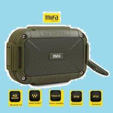 ส่วนลด Mifa F7 Bluetooth Speaker ลำโพงบลูทูธพกพา สำหรับมือถือ โน๊ตบุ๊ค อุปกรณ์เครื่องเสียงอื่นๆ ที่มีบลูทูธ เสียงดี สวย แกร่ง Mifa กรุงเทพมหานคร