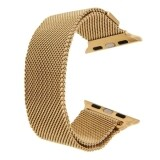 ราคา Milanese Loop Magnetic Stainless Steel Watchband For Apple Watch 42Mm Gold Intl ใหม่ ถูก