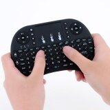 ทบทวน ที่สุด Mini 2 4G Backlight Wireless Touchpad Keyboard Air Mouse For Pc Android Tv Box Intl