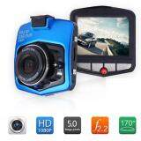 ขาย ซื้อ ออนไลน์ Mini Car Camera Car Dvr Camcorder 1080P Full Hd Video Registrator Parking Recorder G Sensor Night Vision Dash Cam Blue