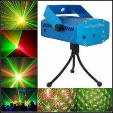 โปรโมชั่น เลเซอร์ เครื่องฉายไฟเวทีแสงเลเซอร์ Mini Laser Stage Lighting Projector Laser ใหม่ล่าสุด