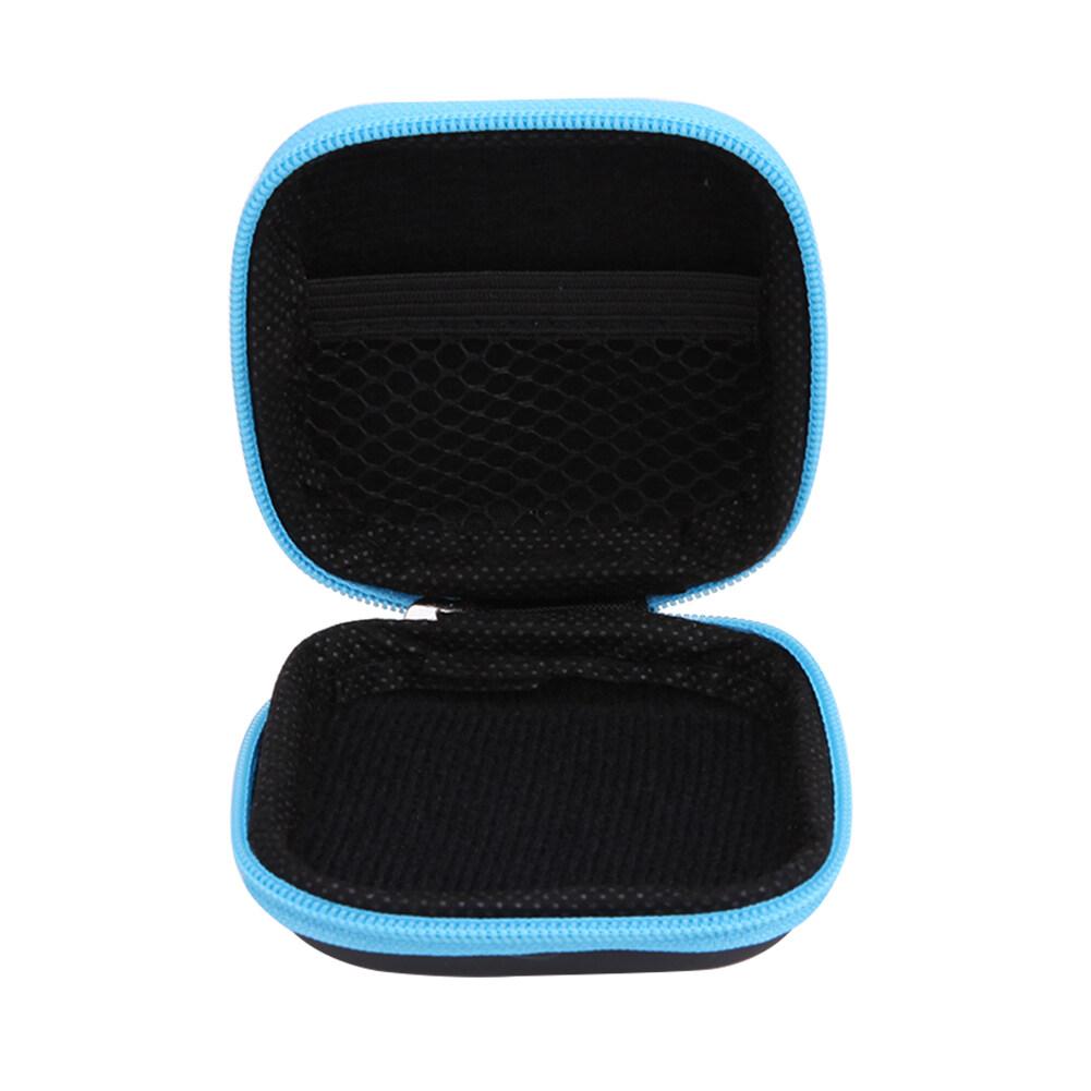 ใช้ดีจริง หูฟัง Unbranded/Generic สแควร์กระเป๋าถือใส่ฮาร์ดดิสก์สำหรับหูฟังหูฟังพร้อมกระเป๋าตาข่าย - สีม่วง - นานาชาติ ของแท้ ส่งฟรี