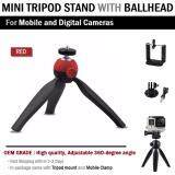 ขาย ซื้อ ขาตั้งกล้อง ขาตั้ง Mini Tripod สำหรับ กล้อง และ มือถือ Portable Mini Tripod With Phone Holder Clip กรุงเทพมหานคร