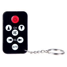 ขาย แถลงทางโทรทัศน์สากลมินิ 7 กุญแจรีโมทคอนโทรลที่มีพวงกุญแจ สีดำ ถูก ใน ฮ่องกง