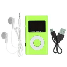 MINI USB ปฏิบัติคลิป MP3 Player 32 กิกะไบต์ Micro การ์ด SD วิทยุแอลซีดีเพลง BlackTHB171. THB 175