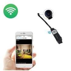 Di shop Mini Wifi P2P กล้องวงจรปิดจิ๋ว WIFI ไร้สาย 720P HD Security Hidden Camera Motion Detective