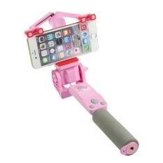 ราคา มินิบลูทูธไร้สายชาร์จ Selfie Stick 360 องศา Monopod สำหรับ Iphone Samsung Xiaomi Huawei ใหม่