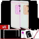 ขาย Miniso Power Bank Ledแบตสำรอง10000Mahรุ่นV8แพ็คคู่ Gold Pink ฟรี ซองกำมะหยี่ สายUsb 3 In 1 ที่ป้องกันสาย ไฟLed Usb คละสี Miniso ผู้ค้าส่ง