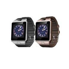 MiniSo นาฬิกาโทรศัพท์ Smart Watch รุ่น A9 Phone Watch  แพ็ค 2 ชิ้น (Silver+GOLD)