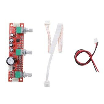 Miracle Shining NE5532 Preamp Pre-amplifier Tone Board Kit Treble Bass Volume Control Module - intl
