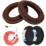 ราคา Misodiko Replacement Earpads Foam Ear Pad Cushion Kit For Quietcomfort Qc15 Qc2 Qc25 Ae2I Ae2W Headphones With 3 5Mm Audio Cable 1 Pair Intl