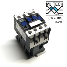 MJ-tech Magnetic Contactor แมคเนติก CJX2-1810 (LC1D 1810) coil 220VAC