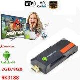 ซื้อ Mk809Iv Mini Pc สมาร์ททีวีกล่อง Android 5 1 Quad Core 2 กรัม 8 กรัม Dlna Wifi ใน จีน