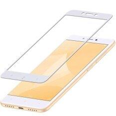 ทบทวน ที่สุด Mocolo Silk Print Arc Edge Full Coverage Tempered Glass Screen Protector Film For Xiaomi Redmi 4X White Intl