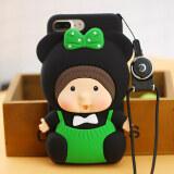 ส่วนลด สินค้า Monchhichi Iphone7Plus 6Splus การ์ตูนแอปเปิ้ลแขนป้องกันโทรศัพท์เปลือก