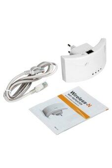 Moonar Wireless-N Network Signal Range Expander Repeaters White
