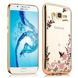 ขาย Mooncase Case For Samsung Galaxy A7 2015 Secret Garden Premium Soft Tpu Plating Bling Glitter Transparent Back Case Gold Intl Mooncase เป็นต้นฉบับ